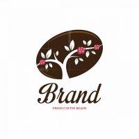 Coffee Berries Symbol Logo