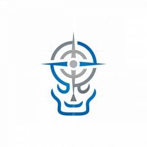 Compass Skull Logo