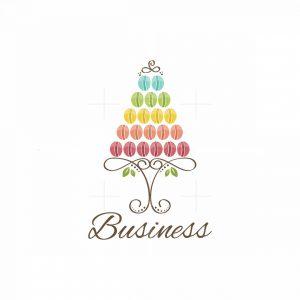 Cookies Tree Symbol Logo