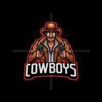 Cowboys Mascot Logo