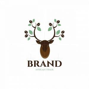Deer Coffee African Trade Logo
