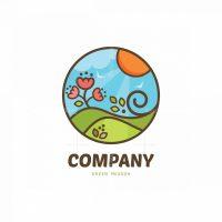 Green Meadow Pictorial Logo
