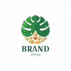 Green Patios Symbol Logo
