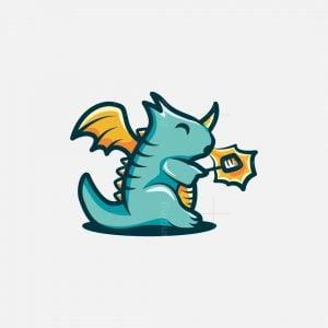 Cartoon Dragon Logo