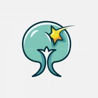Tree And Star Logo