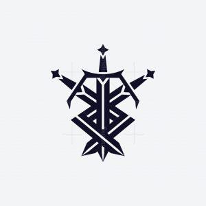 Interlocking Swords Logo