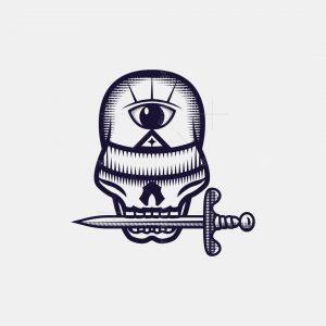 Knowledge Skull Logo
