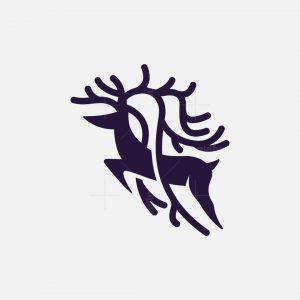 Horned Deer Logo