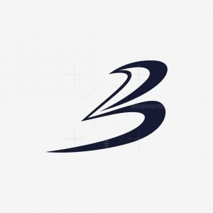 Abstract Letter B Logo