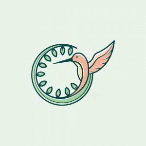 Natural Hummingbird Logo