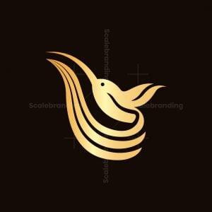 Elegant Hummingbird Logo