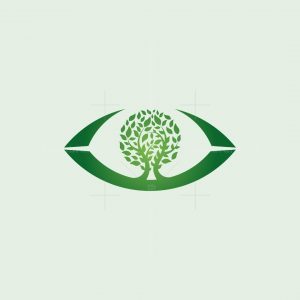 Tree Eye Logo