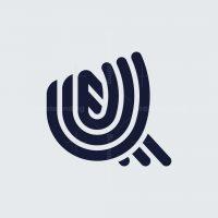 Letter U Lines Logo