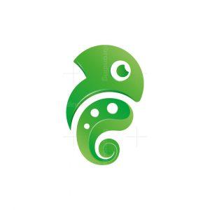 Cute Chameleon Logo
