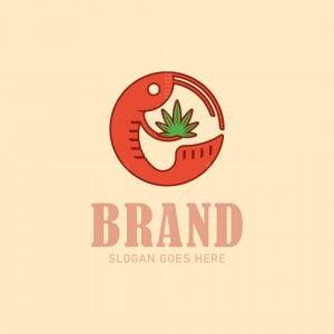 Cannabis Shrimp Logo