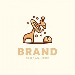 Giraffe And Saturn Logo