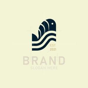 Minimalist Fish Logo