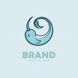 Cute Narwhal Logo