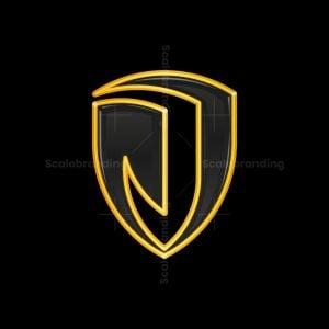 J Letter Shield Logo