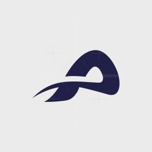 Minimalist Letter A Logo