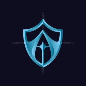 Shield And Star Logo