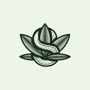 Letter S Cannabis Logo