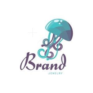 Jellyfish Jewelry Pictorial Logo
