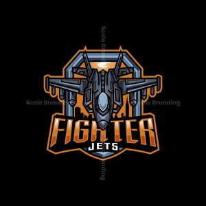 Jets Fighter Mascot Logo
