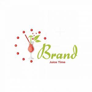 Juice Time Symbol Logo