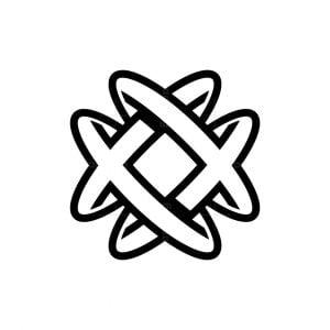 Heart Medical Letter X Logo