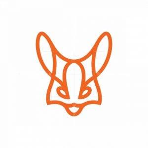 Fennec Fox Logo Fox Head Logo