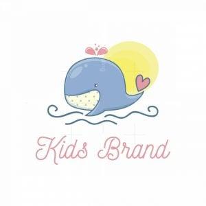 Little Whale Kids Shop Logo
