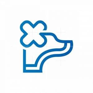 Medical Dog Logo Veterinarian Vet Logo