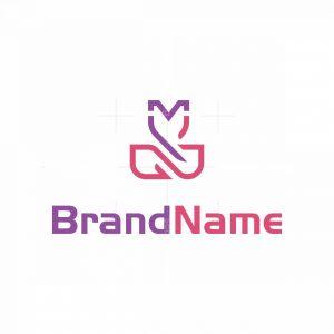 Mj Cosmetics Logo