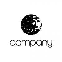 Moon Head Logo