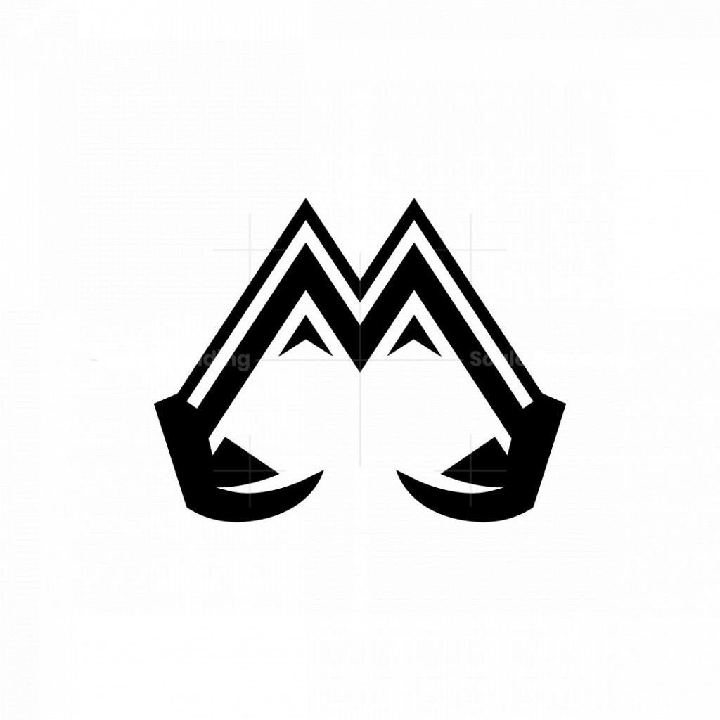 Mountain Excavator Logo Construction Logo