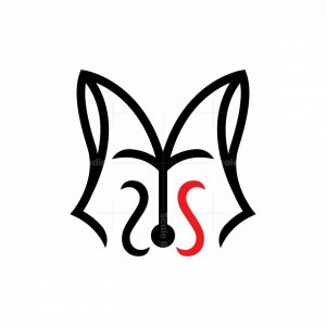 Letter S Fox Logo Fox Head Logo