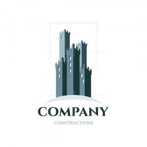 Sky Castle Constructions Symbol Logo