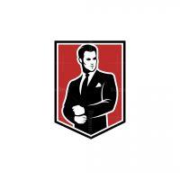 Man In A Suit Logo