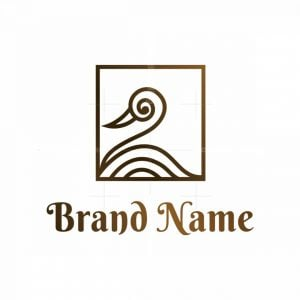 Square Swan Logo