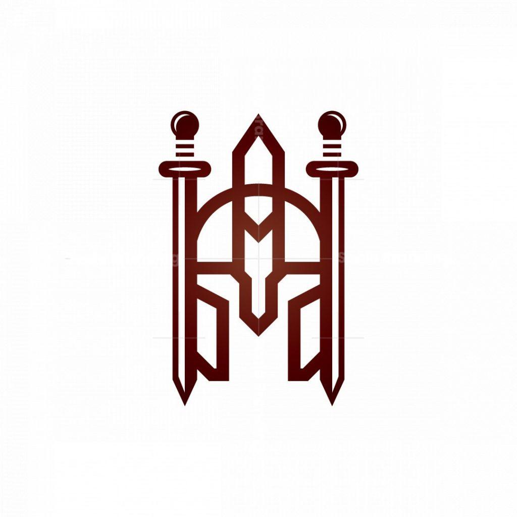 Sword Swords Spartan Logo