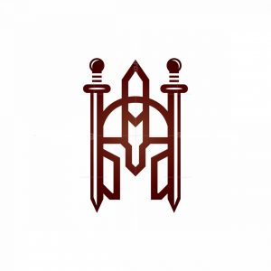 Sword Spartan Logo Swords Warrior Logo