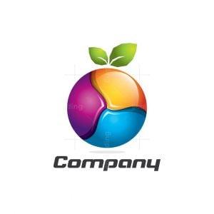 Tech Fruit 3dlogo