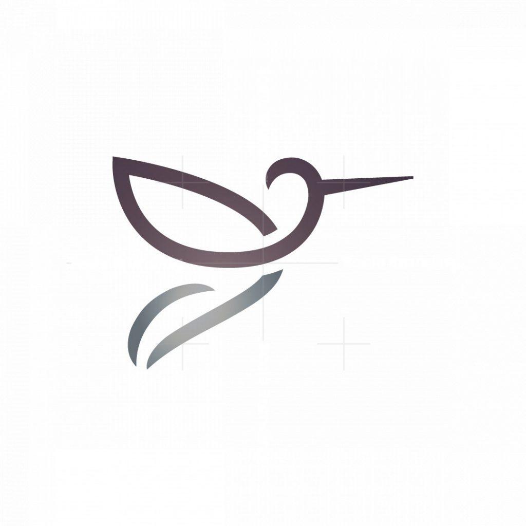 Tulip Hummingbird Logo
