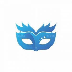 Blue Mask Logo