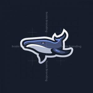 Whale Mascot Logo