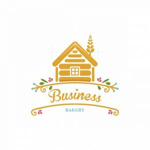 Wheat Cottage Bakery Pictorial Logo