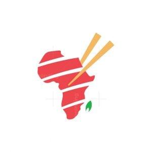 Africa Sushi Meat Logo