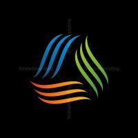 Modern Triangel Logo
