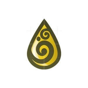 Herbal Oil Drop Logo